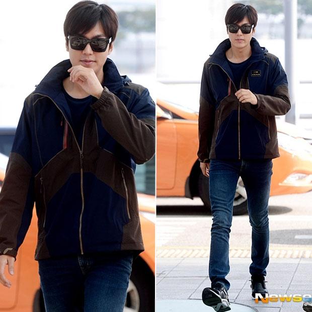 Cùng soi thời trang thu đông của chàng Xoăn Lee Min Ho