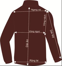 Thông số chọn size áo